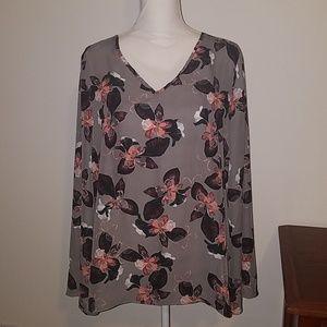 Daisy Fuentes sheer shirt